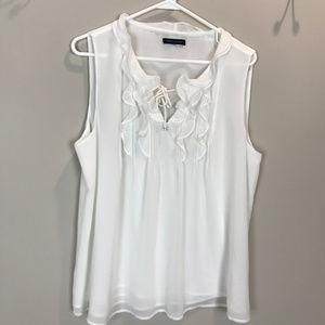 Women's Sz M Tommy Hilfiger slvls blouse